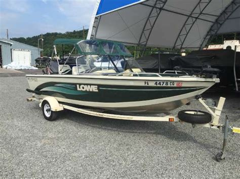 lowe boats used used lowe freshwater fishing boats for sale boats