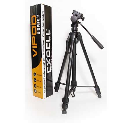 Tripod Excell Target 600 Hitam excell vipod 200 gudang digital