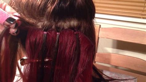 hairextensions hair extension magazine micro ring weave demonstrated by jem hair extensions