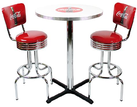 Coca Cola Table And Stools by Coca Cola Bar Stools New