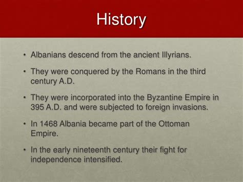 the ottoman empire preferred to albanian americans presentation