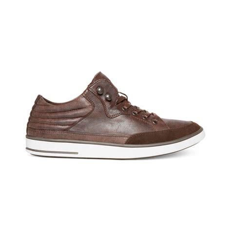 steve madden mens sneakers steve madden madden mens shoes symms sneakers in black for