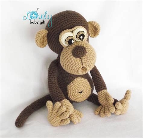 amigurumi monkey bruno the monkey amigurumi pattern amigurumipatterns
