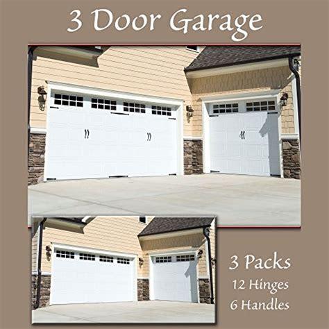 Garage Door Accents Household Essentials Hinge It Magnetic Decorative Garage Door Accents Black New Ebay