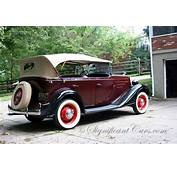 1932 Chevrolet Phaeton Related Infomationspecifications