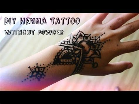 henna tattoo recipe the world s catalog of ideas