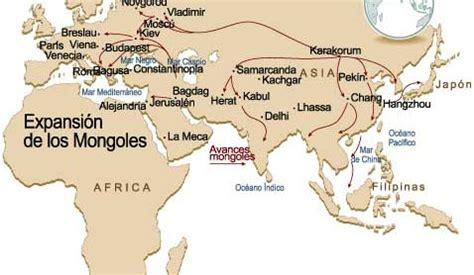 imperios otomano mongol y chino el imperio mongol icarito