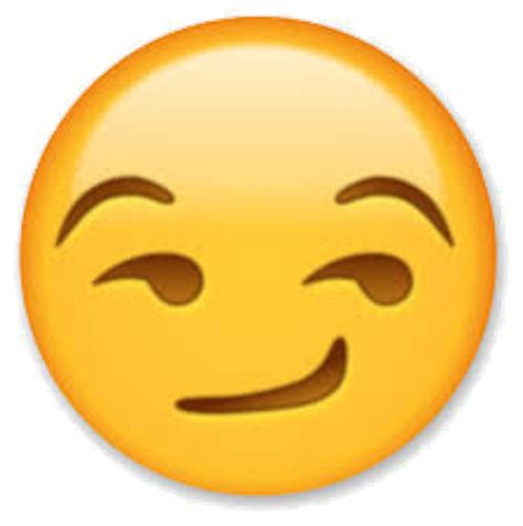 the emoji related keywords suggestions for smirk emoji