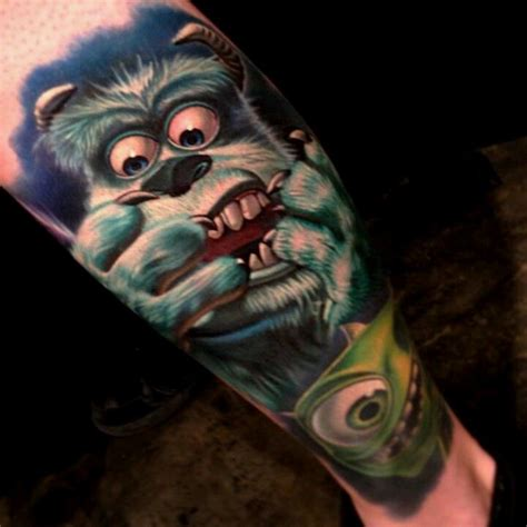 tattoo monster ink quebec monsters inc by nikko hurtado ink steel pinterest