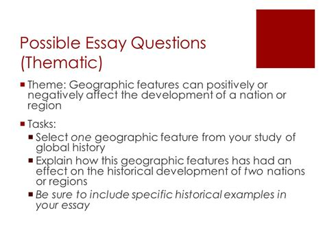 theme development essay regents review what you should know ppt download