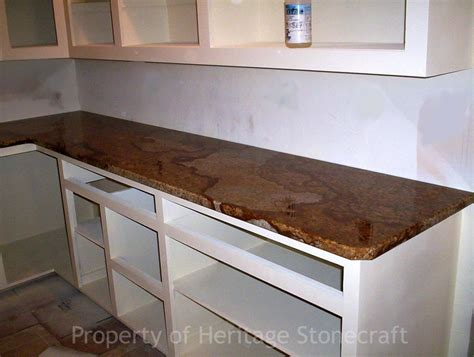 Copper Granite Countertop by In This Photo Copper Or By Home Improvements