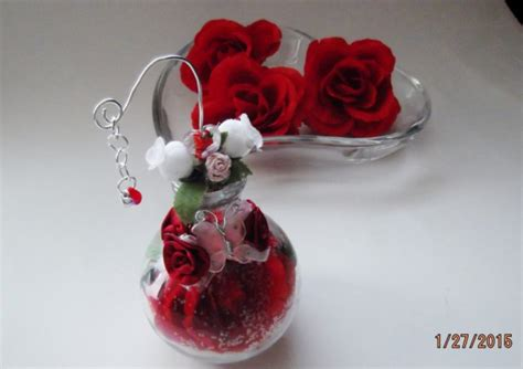 forever rose in glass the forever rose glass bottle collectible aftcra