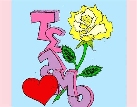 imagenes que digan te amo con una rosa te amo