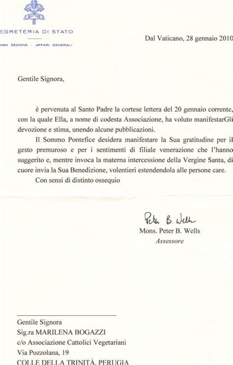 lettere ad un padre la lettera di ringraziamento santo padre
