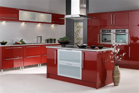 red kitchen cabinets ideas red kitchen ideas terrys fabrics s blog
