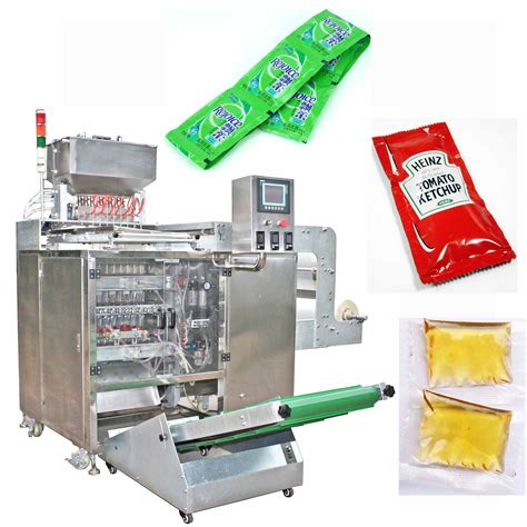 Mayonaise Sachet high speed mayonnaise sachet packing machine with factory