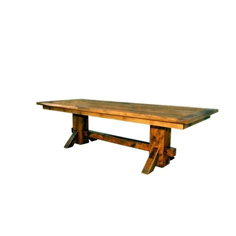 Barn Dining Table Rustic Reclaimed Barn Wood Pedestal Dining Table