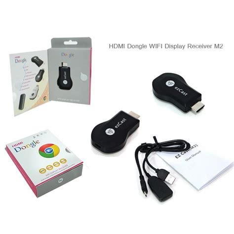 Anycast M2 Plus Wireless Hdmi Dongle Media Player hdmi dongle wifi display receiver m2 android from
