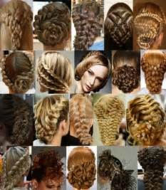 images of different hair style imagenes fantasia y color hermosos peinados con trenzas