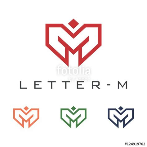 free logo design letter m quot letter m logo technology logo design quot stock image and