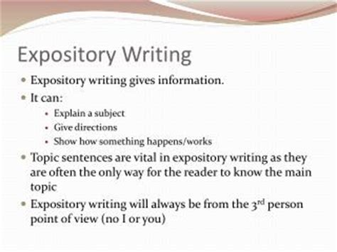 Expository Definition Essay Topics by Ppt Expository Writing Powerpoint Presentation Id 2645513