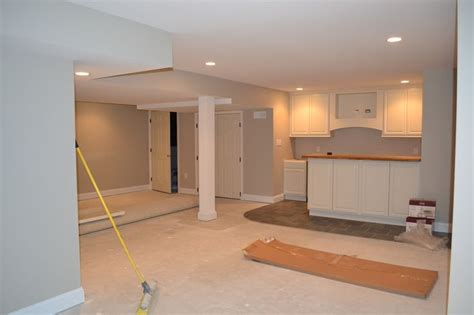 ben nimbus gray basement used benjamin revere pewter throughout the whole