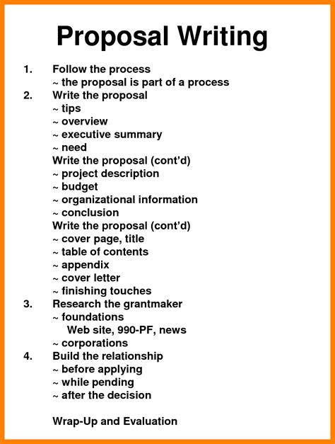16 writing proposal templates free sample example format