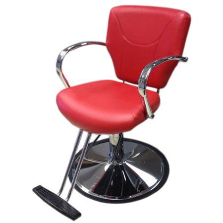 br beauty reba red professional salon  barber styling chair walmartcom