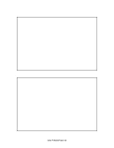 Postcard Template 4x6 Inches Paper 4x6 Label Template