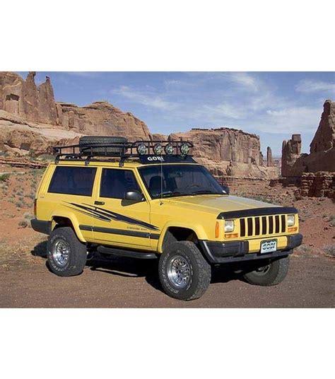 jeep cherokee xj sunroof jeep cherokee xj 183 ranger w tire rack 183 multi light setup