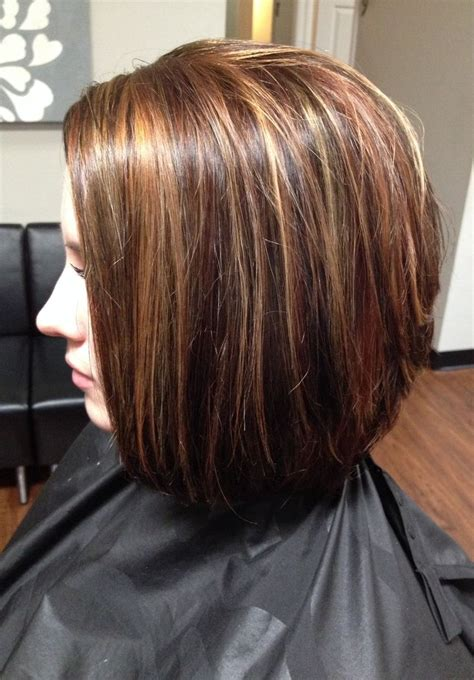 low light colors for hair hair color lowlights and highlights cut stacked in the