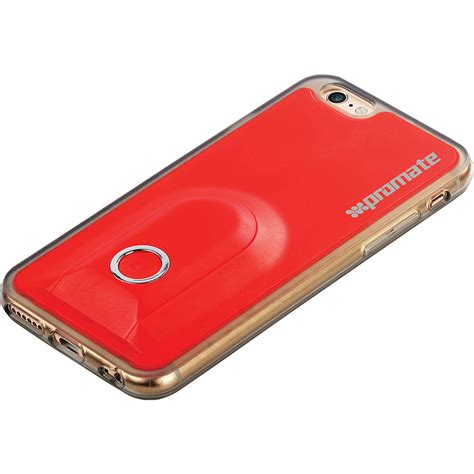 promate selfiecase i6 ultra slim for iphone 6 6s w wireless shutter big