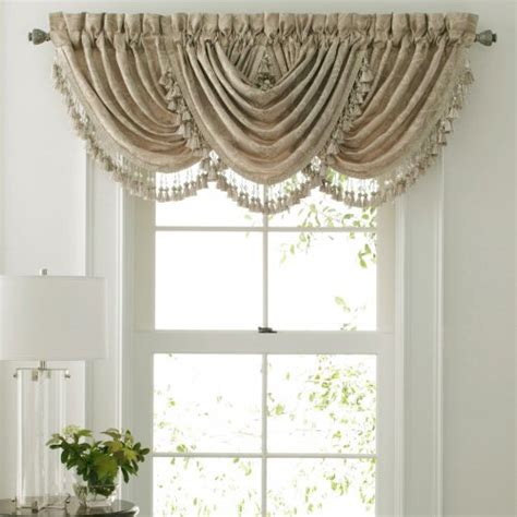 waterfall valance pattern croscill online stores croscill channing swag waterfall