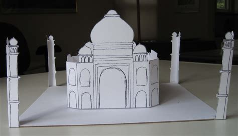 How To Make A 3d Model Out Of Paper - caroline arnold s books children s projects