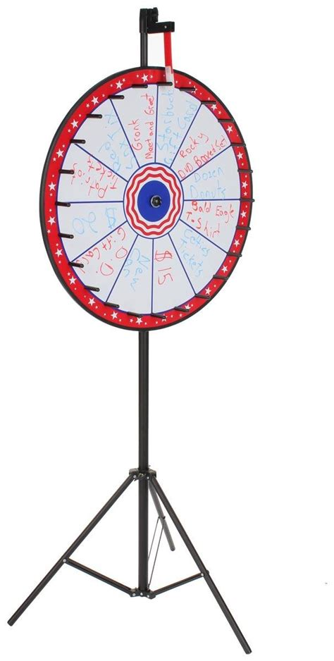 Giveaway Picker Wheel - prize wheel party or event rentals patriotic amusements
