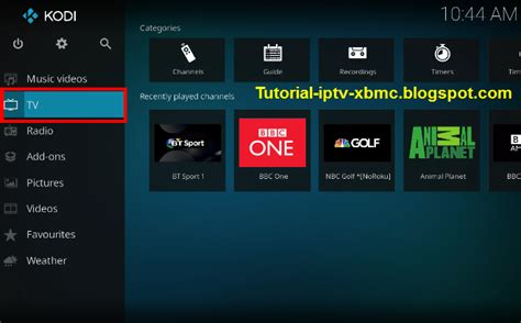 tutorial blogspot iptv iptv playlists on kodi to setup pvr iptv simple client