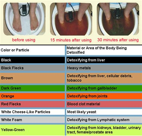 Ionic Foot Detox Information by Ionic Foot Detox Green White Wellness Center Of Nj