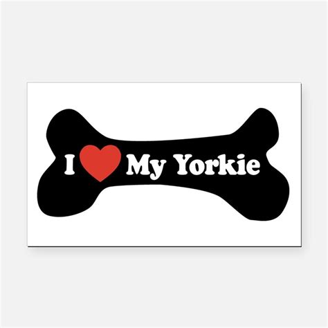 yorkie car magnets i my yorkie car magnets personalized i my yorkie magnetic signs for cars