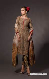 Top 10 pakistani party dresses designs for winter fahad hussayn