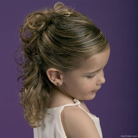 up do hairstyles for kids simple partial up style for little girls with natural curl