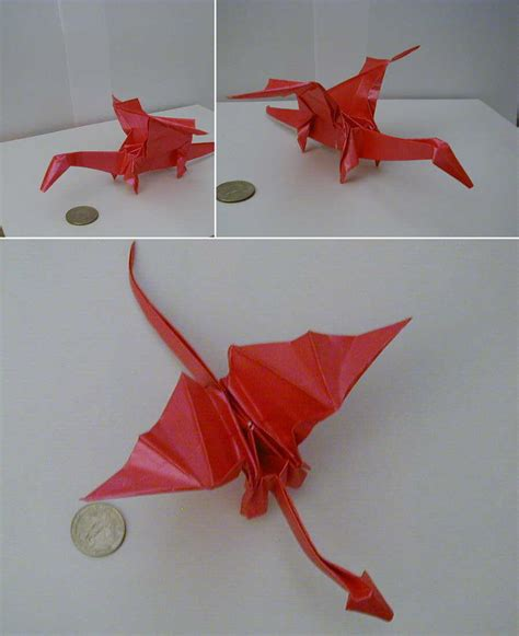 Origami Drago - origami cake ideas and designs