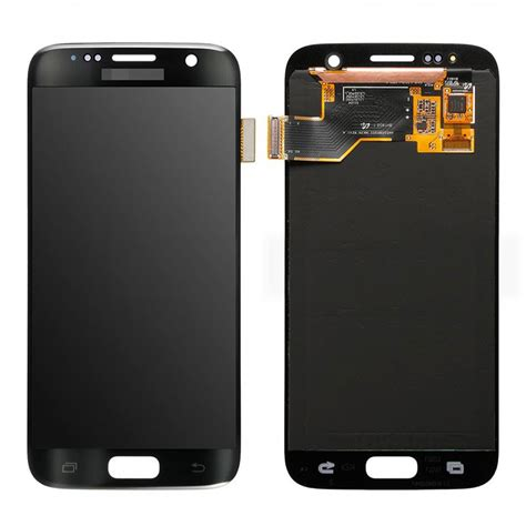 Lcdtouchscreen Samsung S7 Edgeoriginal Samsung Indonesia black s7 g930f g930a lcd screen replacement touch digitizer assembly grade o