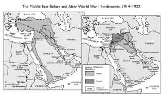 middle east map pre world war map30 01 mid east prior to and after wwi international baccalaureate history topics