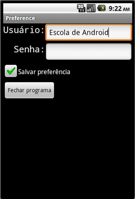 shared preference android escola de android android utilizando shared preferences