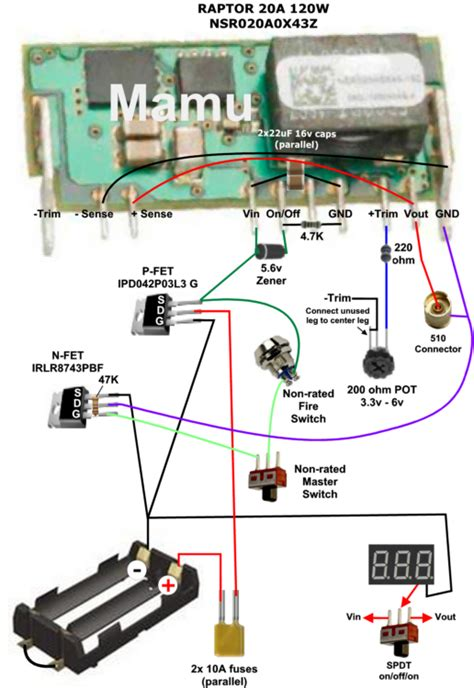 wiring diagram for mosfet box mod get free image about