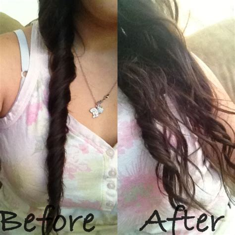 heatless hairstyles for wavy hair just twist after shower wait to dry and instant heatless