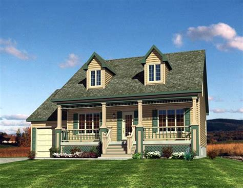 cape cod house plans with porch house plan 48171 at familyhomeplans com