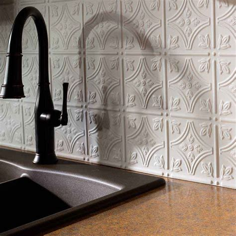 tin look backsplash panels 1000 ideas about backsplash panels on wall