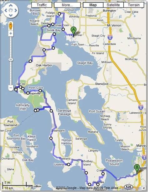 whidbey island map road map whidbey island home sweet home whidbey island