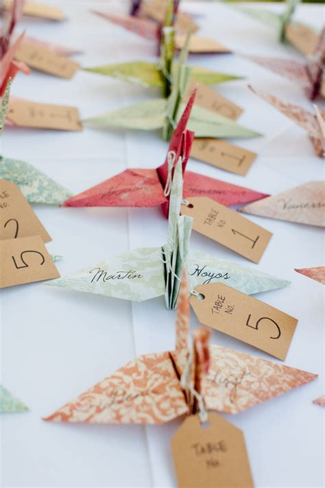 Ideas For Origami - origami wedding decor ideas wedding philippines
